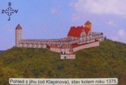 hrad dříve